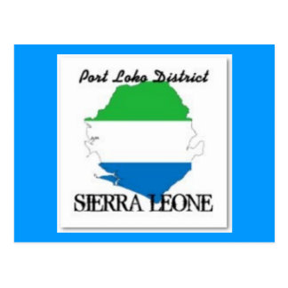NO1 SIERRA LEONE  T-SHIRT AND ETC POSTCARD