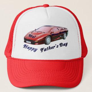 No1 Step Dad Trucker Hat