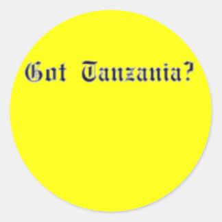 "No1""Tanzania"" (Tanzania) T-Shirt and etc Classic Round Sticker"