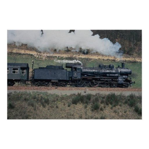 No. 038, 553-4 en Hausach al tren de Freudenstadt, Posters