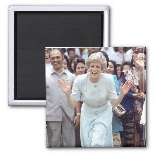 No.100 princesa Diana Indonesia 1989 Imanes
