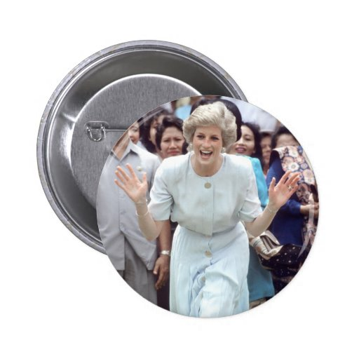 No.100 princesa Diana Indonesia 1989 Pins