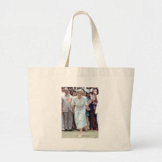 No.100 Princess Diana Indonesia 1989 Large Tote Bag