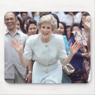 No.100 Princess Diana Indonesia 1989 Mouse Mat
