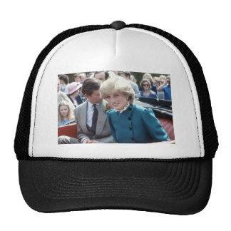 No.102 princesa Diana St Columb 1983 Gorros Bordados