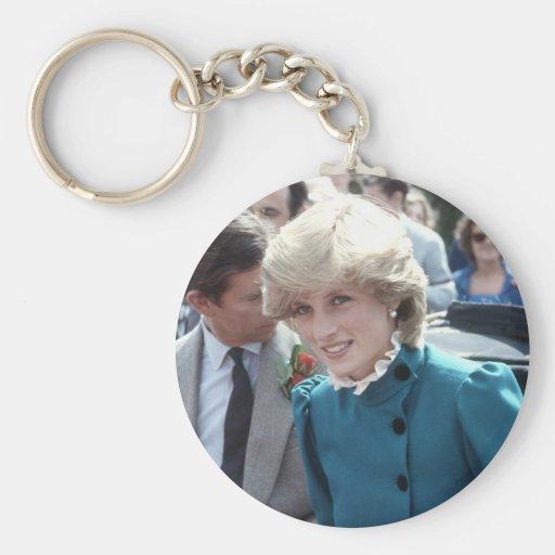 No.102 princesa Diana St Columb 1983 Llavero