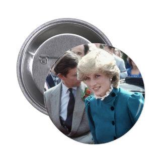 No.102 Princess Diana St Columb 1983 Pinback Button