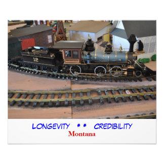 No # 1040 - Sky Trains, Longevity and Credibility Photo Print