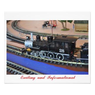 No # 106 - Small Train - Exciting & Beautiful Photo Print