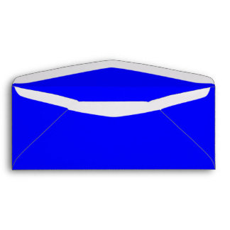 No. 10 azul real del sobre