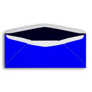 No. 10 Envelope Royal Blue/Dark Blue