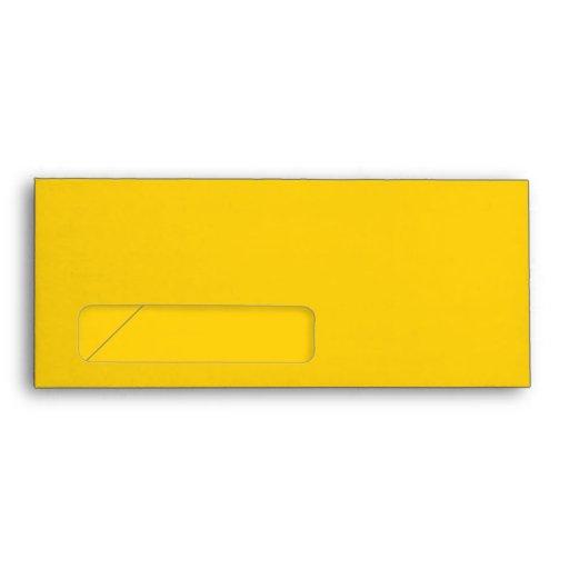 No 10 envelope yellow with window zazzle for 10 window envelope