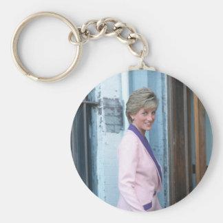No.111 dc 1990 de la princesa Diana Washington Llavero Redondo Tipo Pin