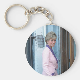 No.111 Princess Diana Washington D.C. 1990 Basic Round Button Keychain