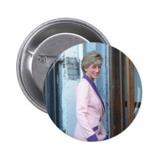 No.111 Princess Diana Washington D.C. 1990 Pinback Button