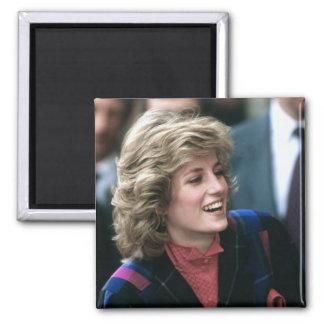 No.115 Princess Diana Barkingside 1885 2 Inch Square Magnet