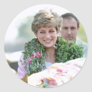 No 116 princesa Diana Calcutta la India 1992 Etiquetas Redondas