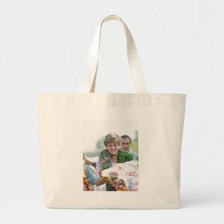 No.116 Princess Diana Calcutta India 1992 Tote Bags