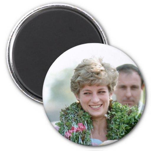 No.116 Princess Diana Calcutta India 1992 2 Inch Round Magnet