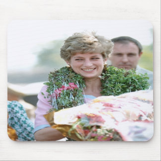 No.116 Princess Diana Calcutta India 1992 Mouse Pad