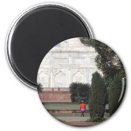 No.121 princesa Diana el Taj Mahal 1992 Imán De Frigorifico