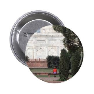 No.121 Princess Diana Taj Mahal 1992 Pinback Button