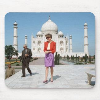 No.122 princesa Diana el Taj Mahal, la India 1992 Alfombrilla De Raton