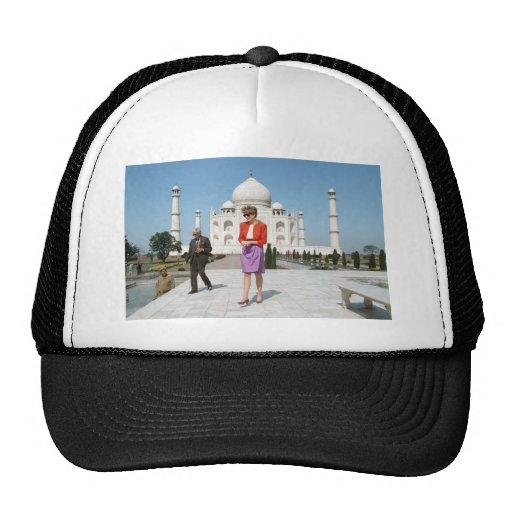 No.122 princesa Diana el Taj Mahal, la India 1992 Gorro De Camionero