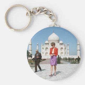No.122 Princess Diana Taj Mahal, India 1992 Keychain