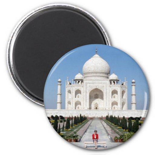 No.123 princesa Diana el Taj Mahal 1992 Iman Para Frigorífico