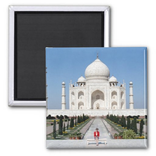 No.123 princesa Diana el Taj Mahal 1992 Imán Para Frigorifico