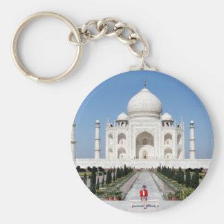 No.123 princesa Diana el Taj Mahal 1992 Llavero Redondo Tipo Pin