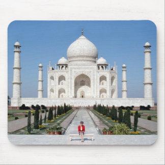 No.123 princesa Diana el Taj Mahal 1992 Mousepad