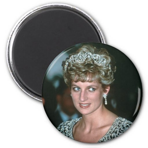No.125 princesa Diana la India 1992 Imán De Nevera