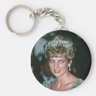 No.125 princesa Diana la India 1992 Llavero Redondo Tipo Pin