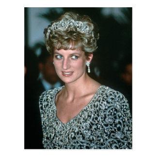 No.125 Princess Diana India 1992 Post Card