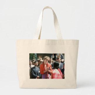No.126 Princess Diana visits Delhi, India 1992 Bags