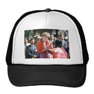 No.126 Princess Diana visits Delhi, India 1992 Trucker Hat