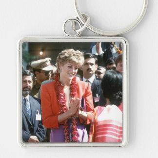 No.126 Princess Diana visits Delhi, India 1992 Keychains