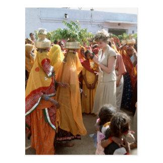 No.129 postal 1992 de la princesa Diana Calcutta