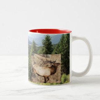 # No - 12, Wraparound Mug - Elk Country, Montana