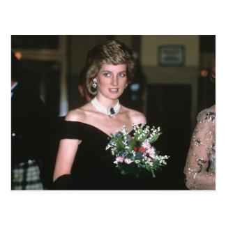 No.131 princesa Diana Viena 1986 Tarjeta Postal