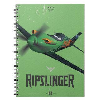 No. 13 de Ripslinger Libros De Apuntes Con Espiral