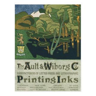 No. 14 de Ault y de Wiborg Co. Tarjetas Postales