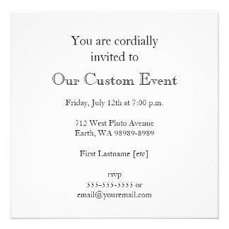 No 14 custom invitations