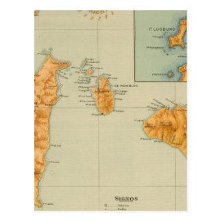 No 16 Romblon, Tablas and Sibuyan Postcard