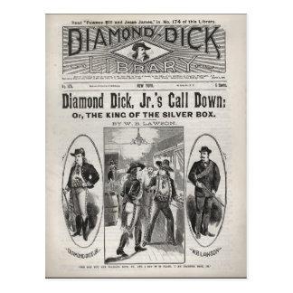 No. 175 de la biblioteca de Dick del diamante Postales