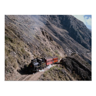 No. 17 climbing to Alausi, Guayaquil and Quito Rai Postcard