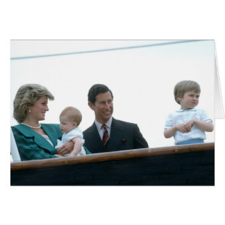 No.17 Prince William Italy 1985 Greeting Card