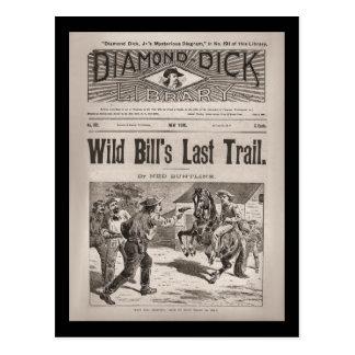 No. 192 de la biblioteca de Dick del diamante Postales